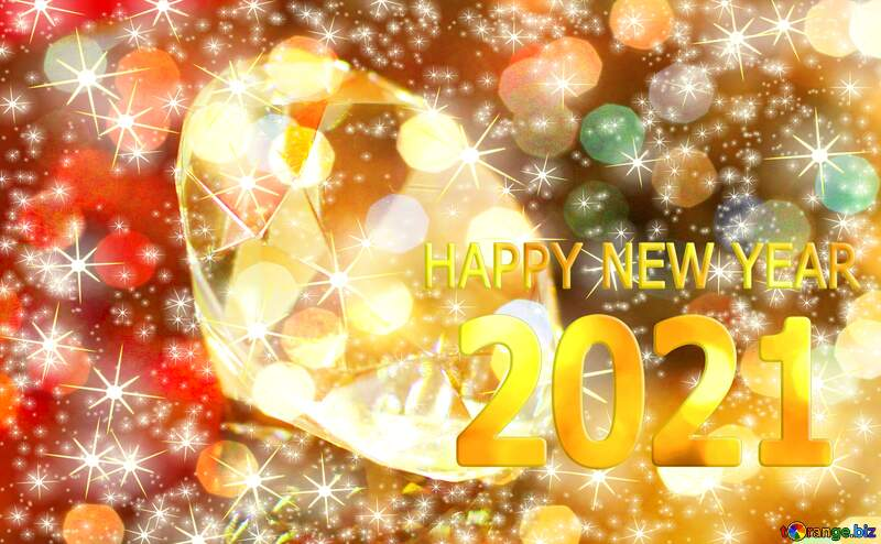 Happy new year 2021  diamond №52795