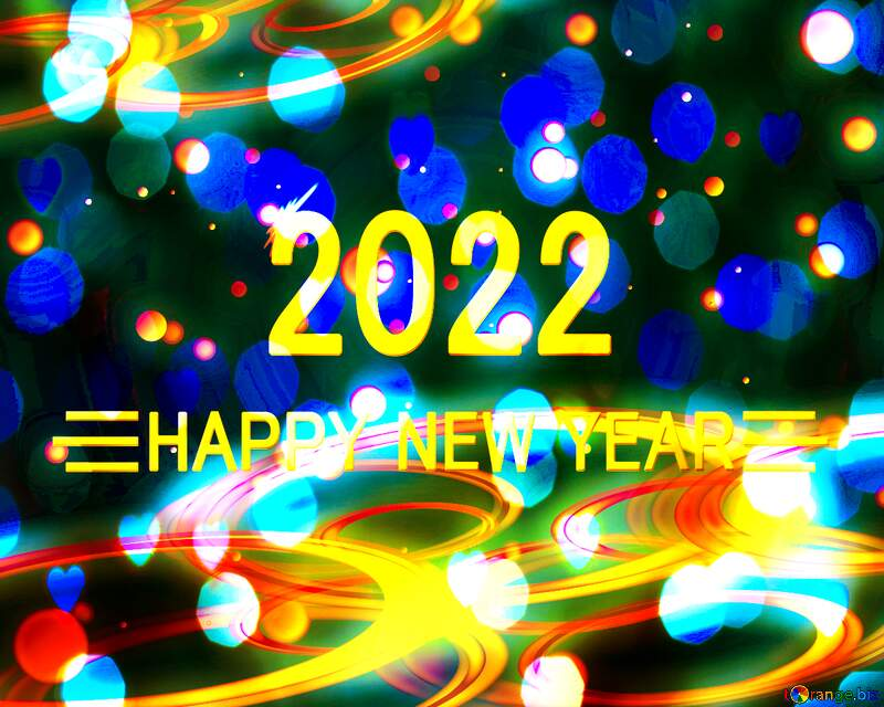Happy new year 2022 background №54919