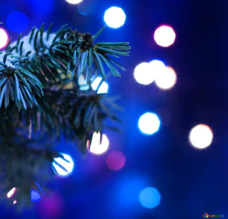 Christmas Tree dark blue №15316