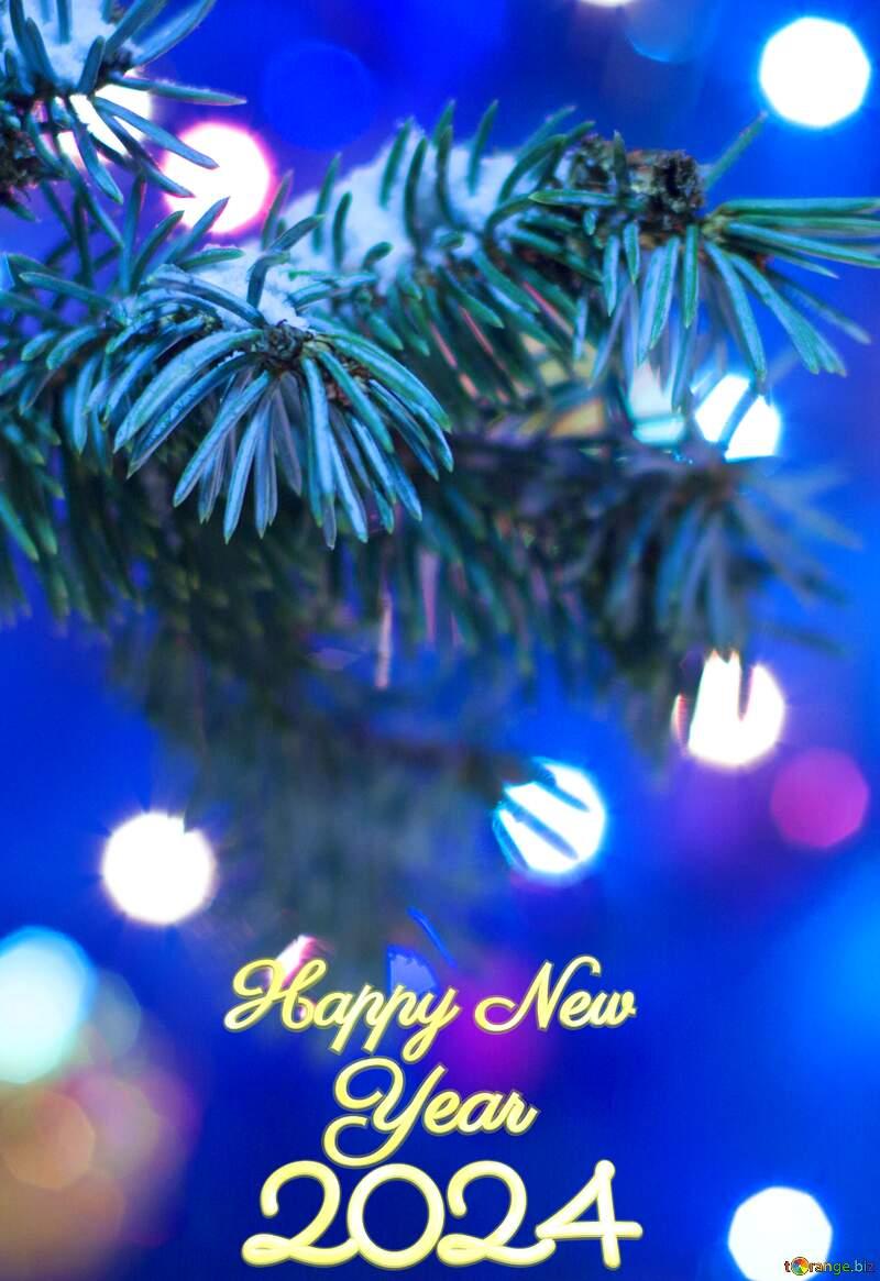 Christmas Tree happy new year 2022 №15316