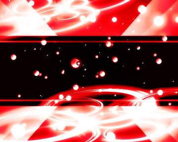 Red spaces background