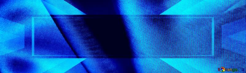 Blue cloth background №17642
