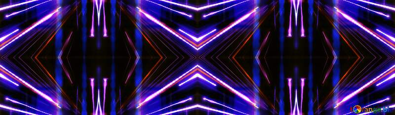 Blue Night Lights design pattern №638