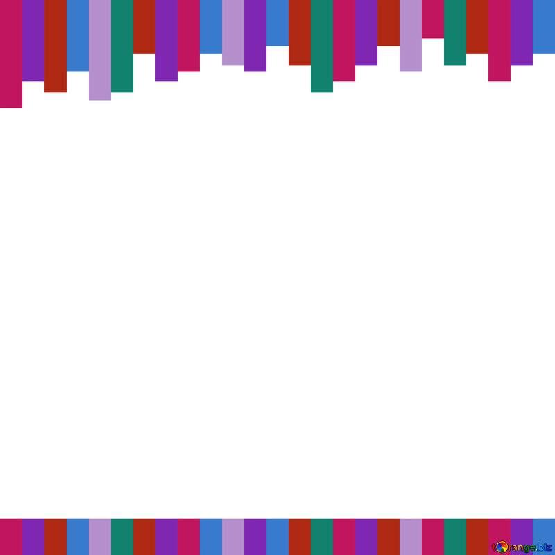 Magenta parallel line blue graphics frame №49681