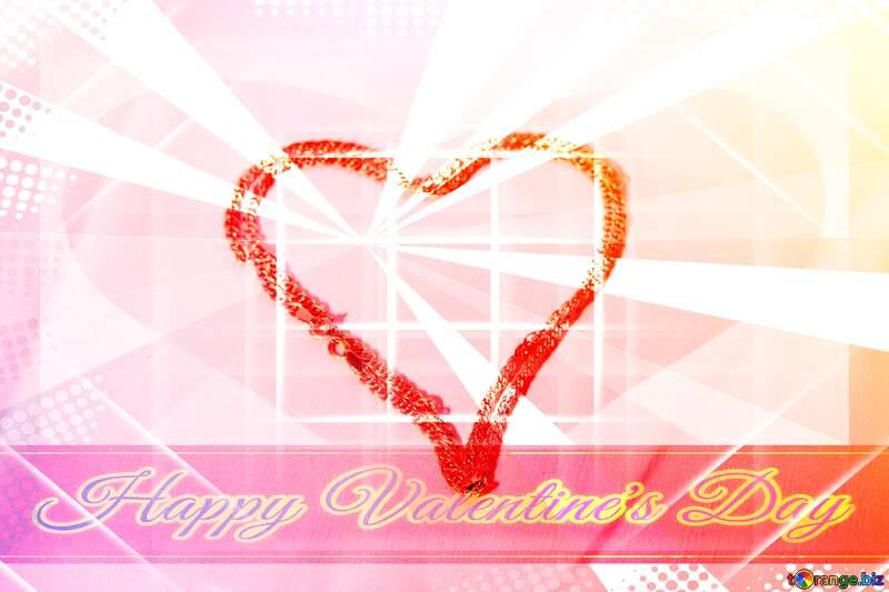 Greeting Valentine`s №3573
