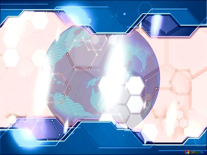 Technology blue earth planet №54514