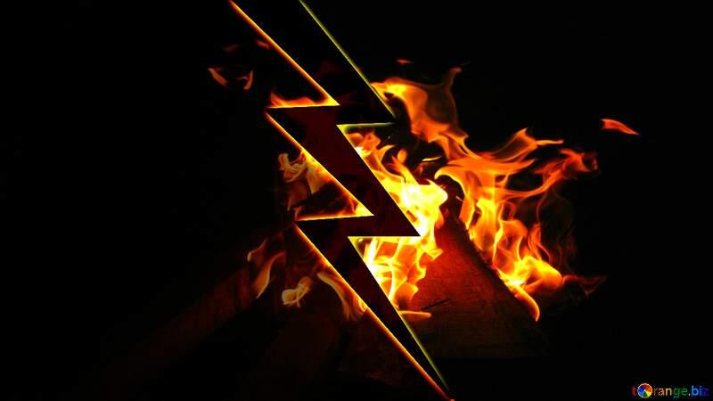 VS Fire thumbnail background №54836