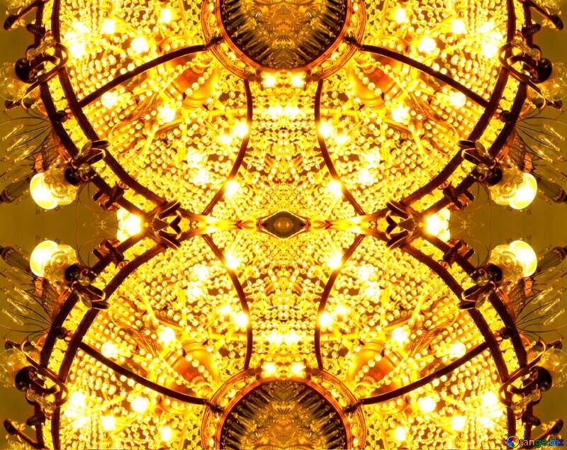 Crystal circles pattern №21641