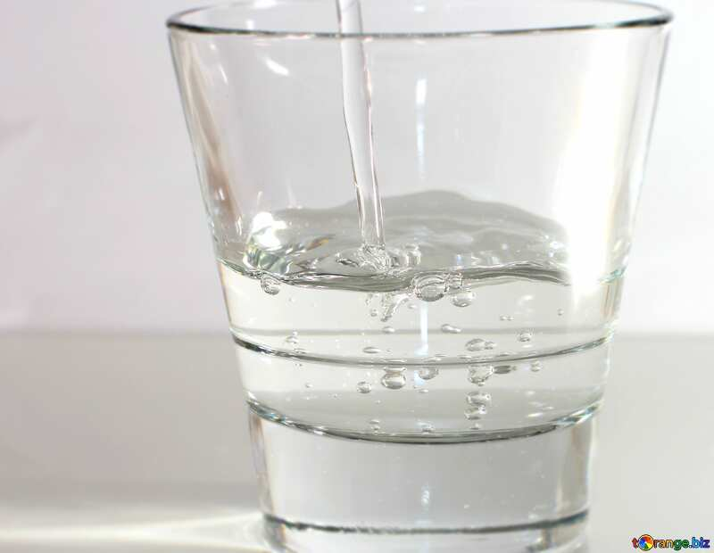 Water in glass №19987