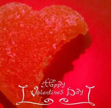 Fragment. Happy Valentine's Day.