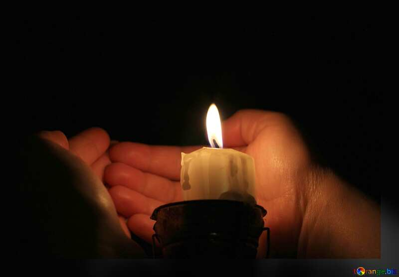 candle flame hands №18083