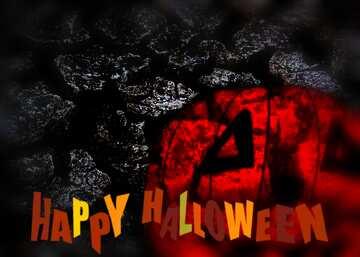L'effetto del buio. I colori molto vivaci. telaio sfocatura. Happy halloween.