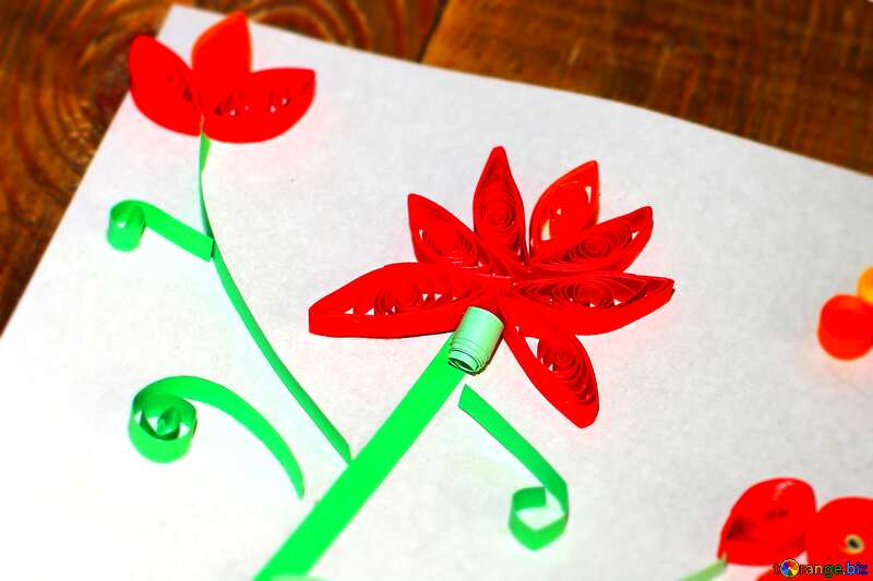 quilling flower №36322