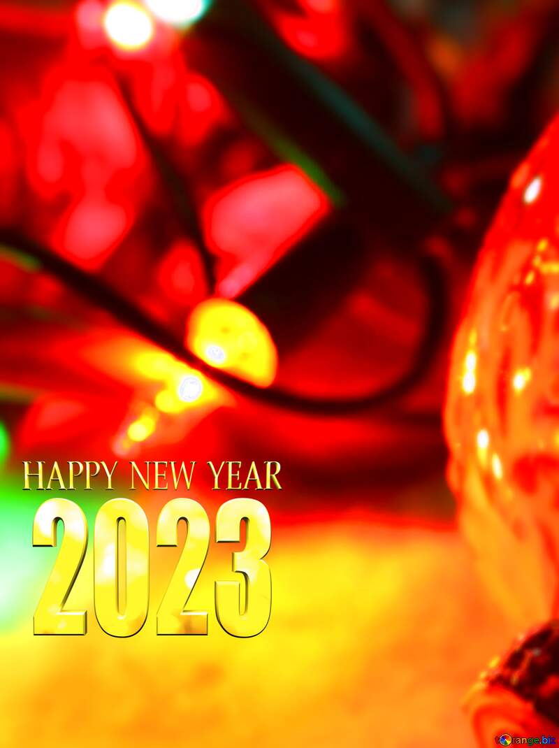 a happy new year card 2021 №37911