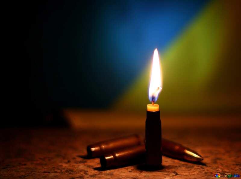 Candle Ukraine war №37963