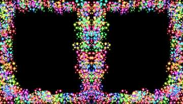 The effect of light. Vivid Colors. Template.