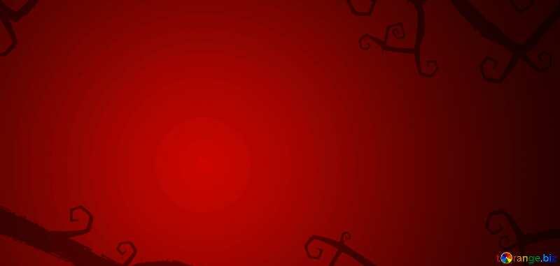 Halloween rouge background №40593