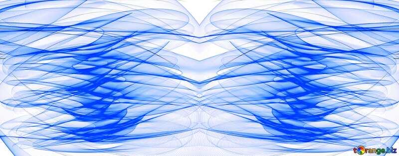 waves background lines light blue №40618