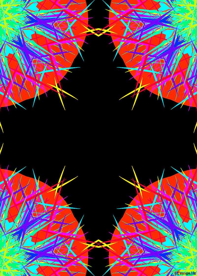 Four red circle №40310