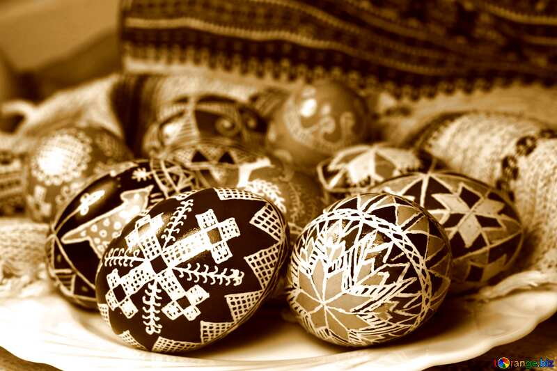 decorative eggs №4352