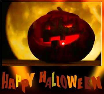 The effect of light. Very Vivid Colours. Blur dark frame. Happy halloween.
