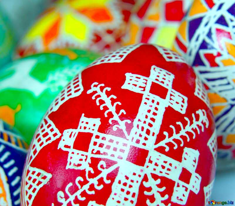 Image for profile picture Eggs are painted by hand. №4354
