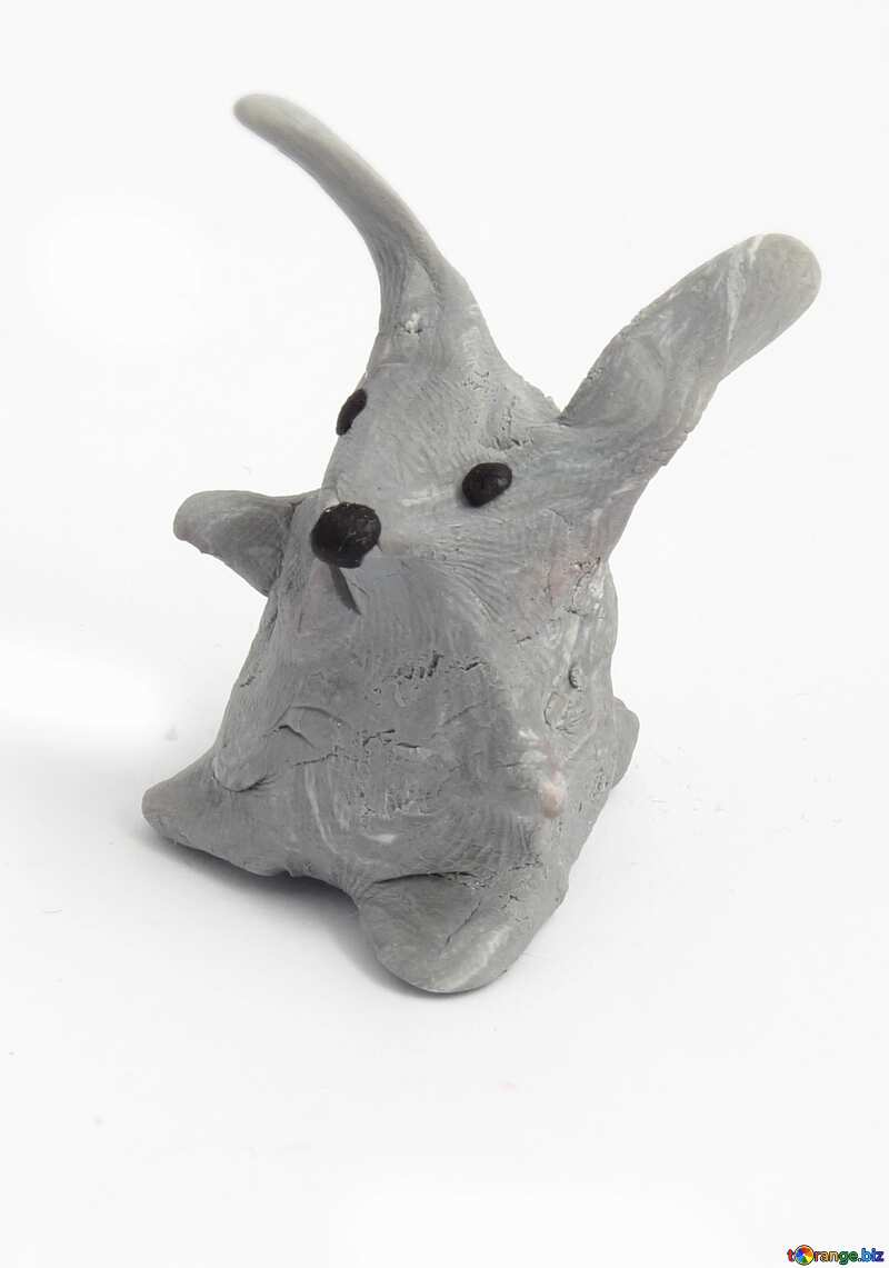 rabbit from clay №17355
