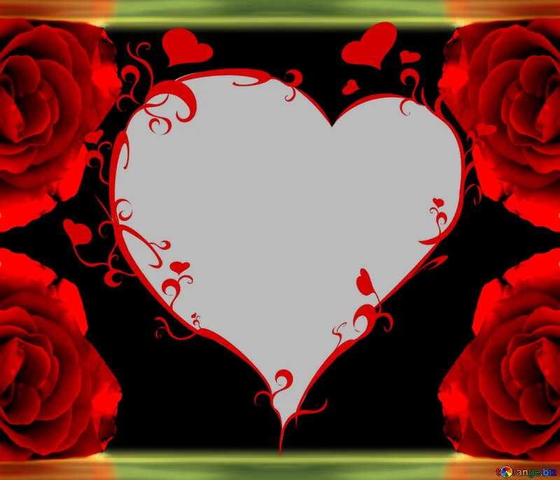 Rose heart №16918