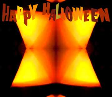 The effect of light. Very Vivid Colours. Fragment. Frame Pattern. Happy halloween.