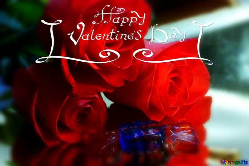 Bouquet happy valentines day №7209
