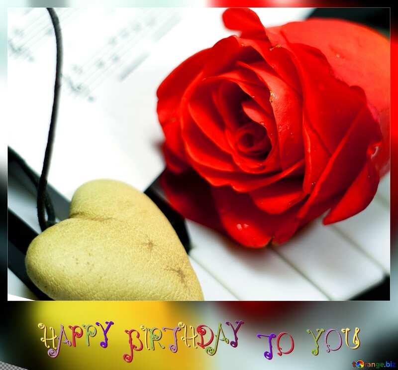 love card happy birthday №7200