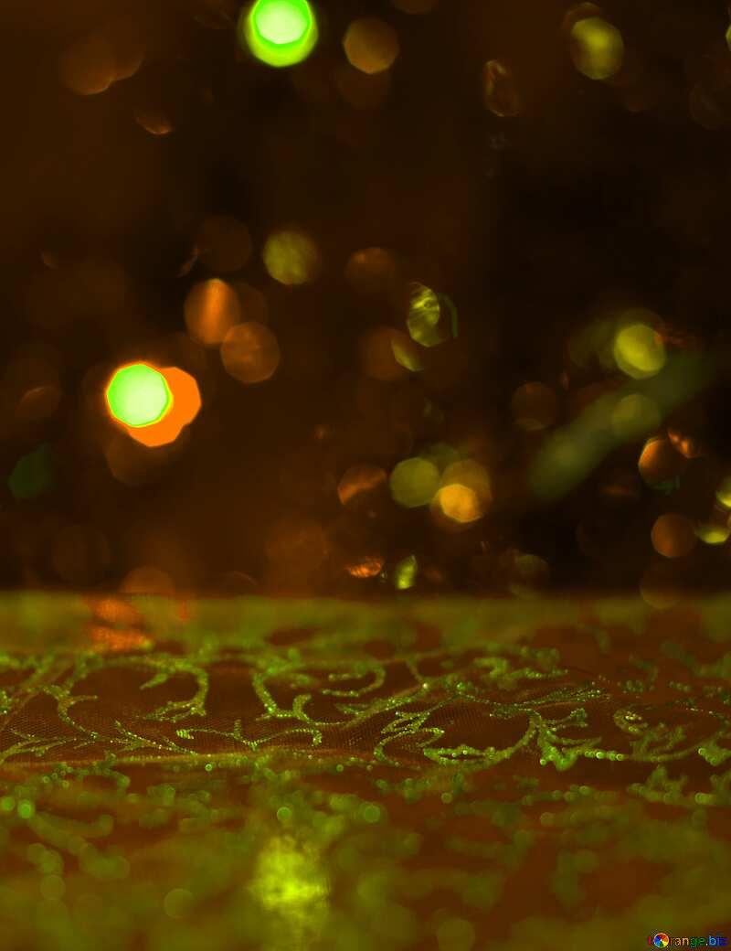 Зеленого цвета. Рождественский фон. №15081