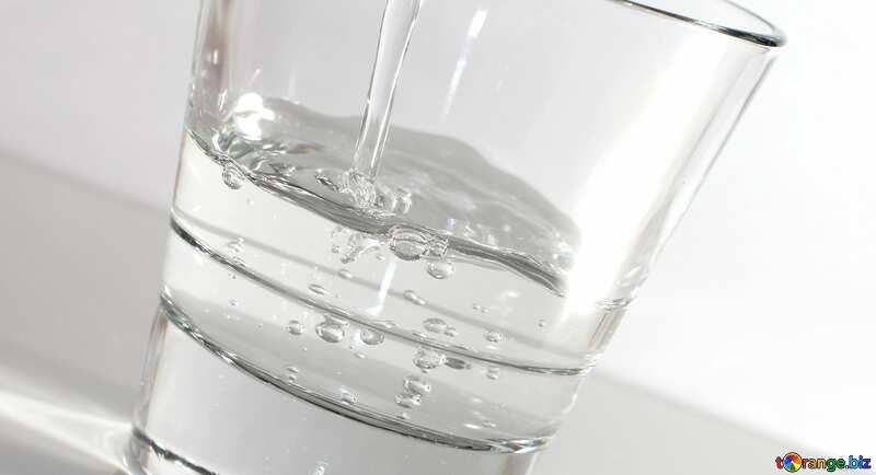 Trinkwasser Glas №19987