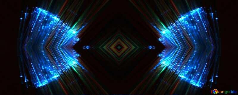 Синий свет фон №25870
