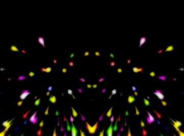 The effect of the dark. Vivid Colors. Fragment. Template.