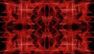 Die Wirkung des viel dunklen. Die Wirkung von rot gefärbt. Bruchstück. Rahmenmusters.