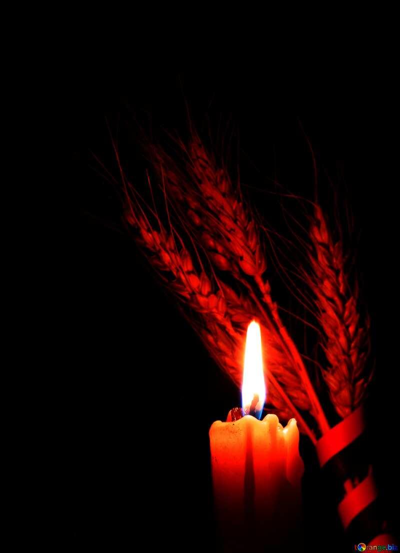 Лучшие картинки. Траурная свеча. №37793