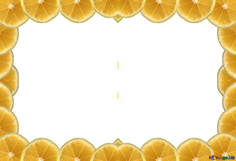 Рамка из лимонов №40849