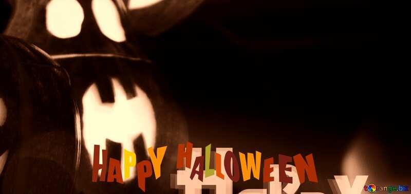 Halloween heart dark template №5934