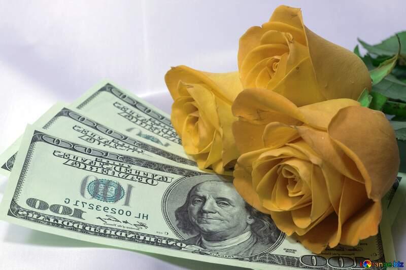 Деньги цветы любовь №7269