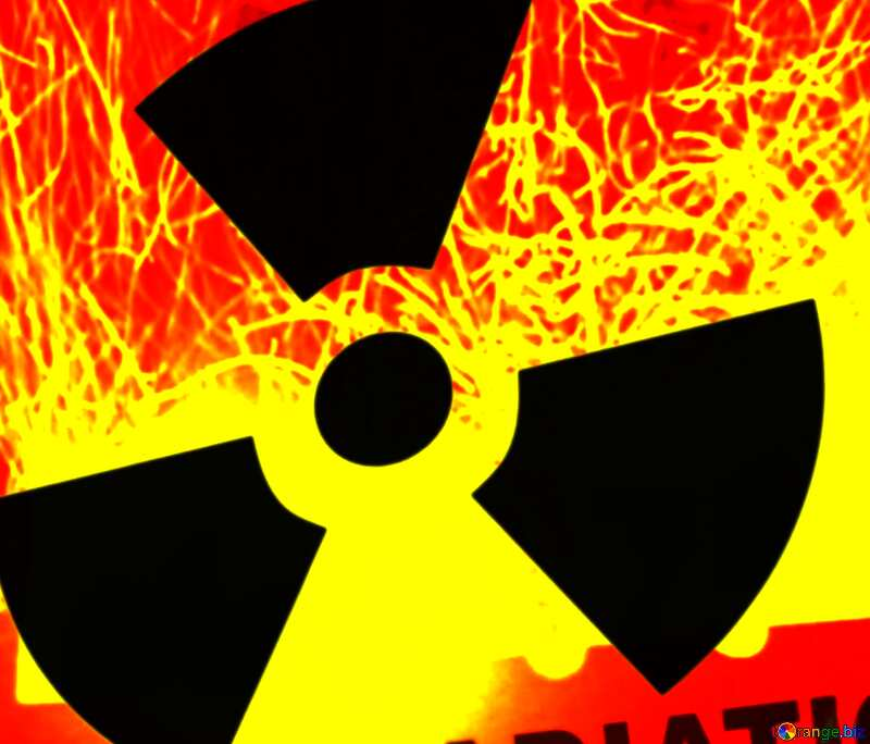 symbol of radiation №7861