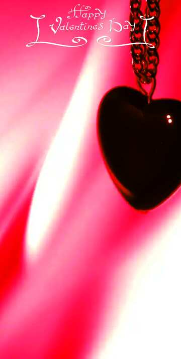 The effect of the dark. Very Vivid Colours. Fragment. Happy Valentine's Day.