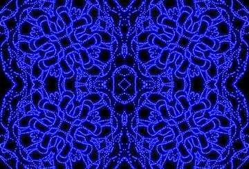 Die Wirkung von viel Licht. Sehr klare Farben. Bruchstück. Muster.