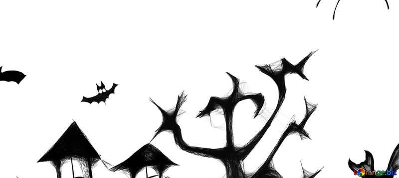 Abdeckung. ClipArt Halloween. №40498