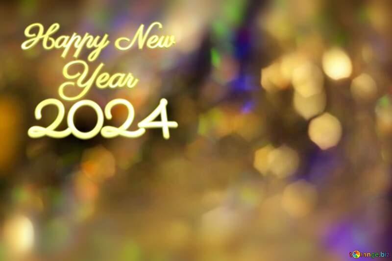 Happy New Year 2021 festive background. №7343