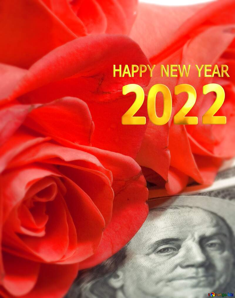 happy new year 2020 flowers and dollars money №7269