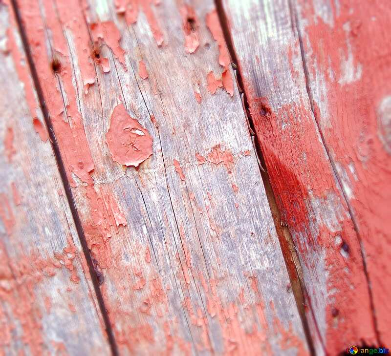 old painted wood boards №5339