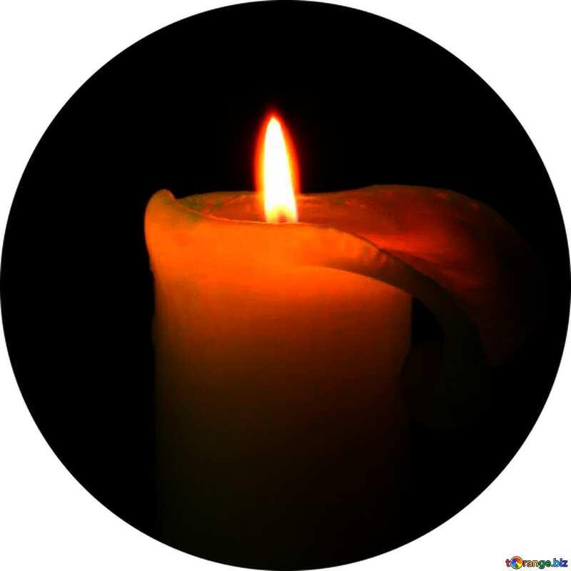 Bild für Profilbild. Kerze. №6171
