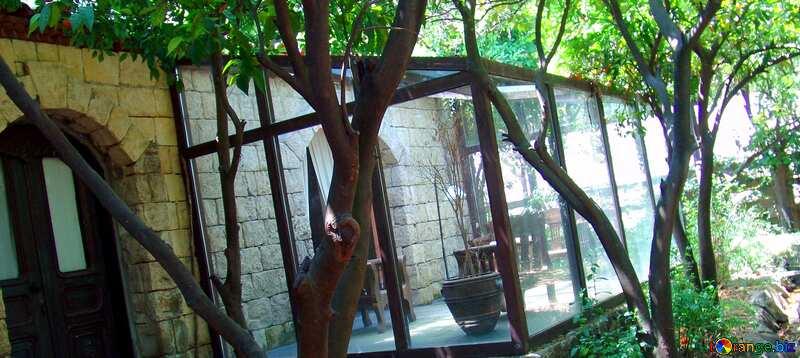 Abdeckung. Winter Garten. №8548