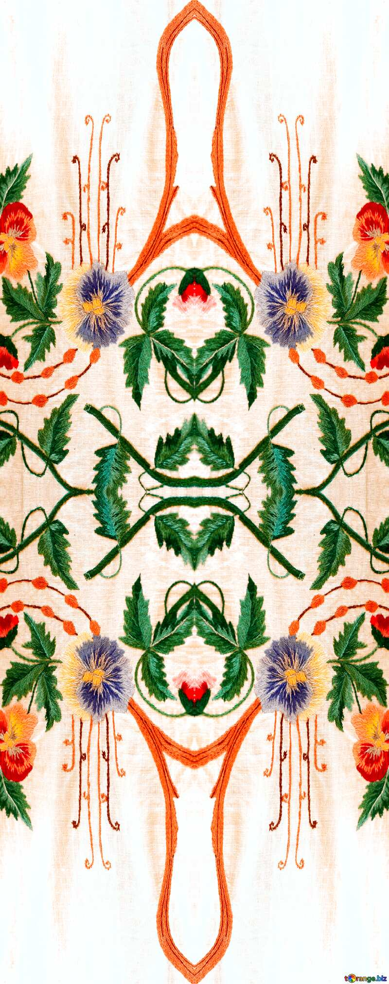 old Ukrainian embroidery pattern №23481
